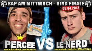 RAP AM MITTWOCH   Percee Vs Le Nerd 03.04.13 BattleMania King Finale (55) GERMAN BATTLE