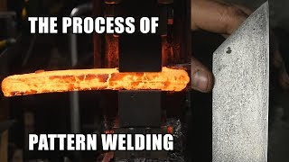 Damascus steel process