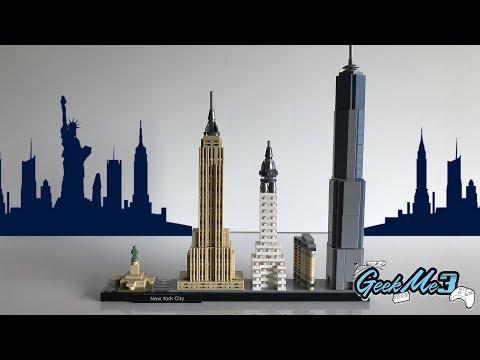 Vidéo LEGO Architecture 21028 : New York