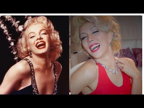 Mi disfraz  HALLOWEEM  : Marilyn Monroe - Maquillaje y Peinado