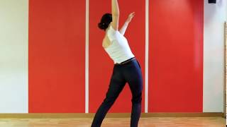Solo Blues Dance Lesson With Alina Vysotskaya.