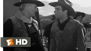 Red River (6/11) Movie CLIP - Punishment by Whip (1948) HD