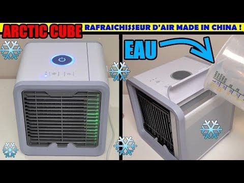Arctic air cube rafraîchisseur d'air made in china ! ca marche ? humidificateur pas un climatiseur