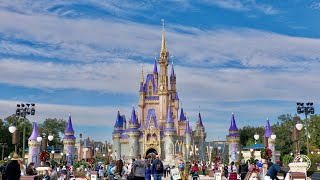 A Long Walk Around Magic Kingdom in December 2020   Walt Disney World Resort Orlando Florida