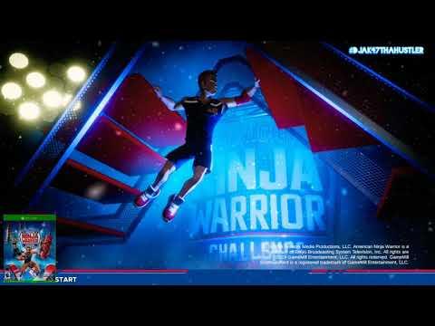American Ninja Warrior (XBOX One) | Quick Play - Single Player Gameplay | 2020 Winter 1st Run!