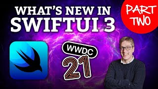 What's new in SwiftUI for iOS 15 – part two!