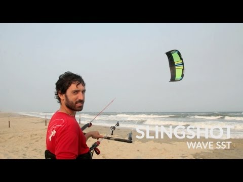 2016 Slingshot SST Wave Kiteboarding Kite Review