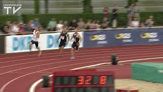 Arthur Abele vs Kevin Mayer- 400m Ratingen 2018