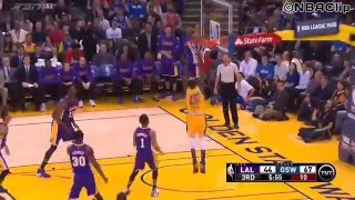 Golden State Warrior VS Lakers 2015