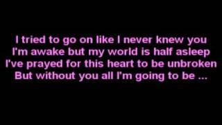 Backstreet Boys - Incomplete Lyrics =]