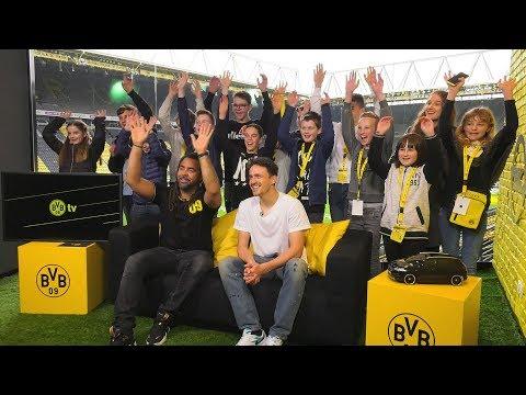 Nachwuchs-Reporter on Tour: Girls' und Boys' Day beim BVB