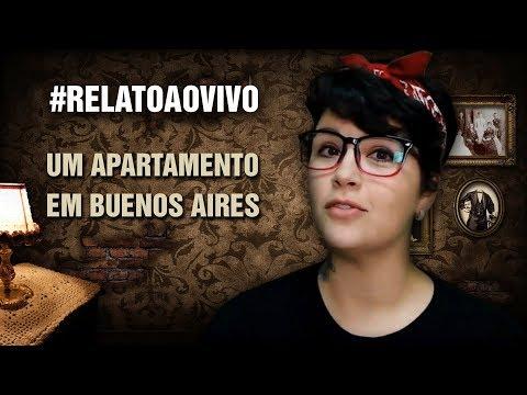 COMEÇAR A SEMANA COM RELATO É D+! Apartamento em Buenos Aires #RelatoAoVivo 204
