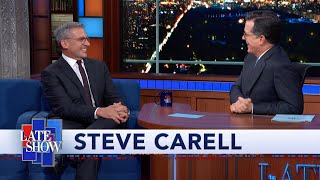"Steve Carell and Stephen Colbert Re-enact Their Sketch ""Waiters Nauseated By Food"""