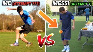 How Difficult are These VIRAL Football Tricks?