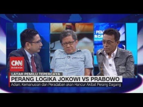 Seru! Debat Rocky Gerung Vs Adian Napitupulu Soal Perang Logika Jokowi - Prabowo