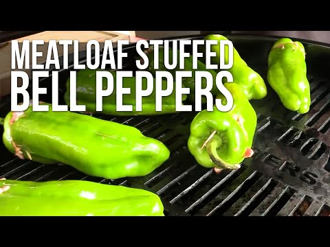 Meatloaf Stuffed Peppers recipe
