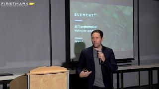 AI Transformation // Jean-François Gagne, Element AI (FirstMark
