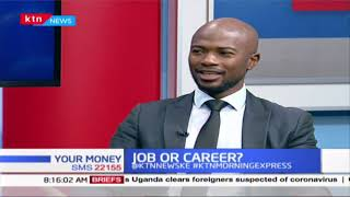 How do you know if you are in a career or a job? | YOUR MONEY
