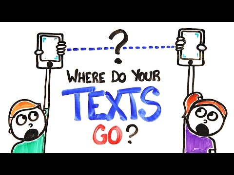 This Video Explains How Your Texts Are Sent From One Phone To Another