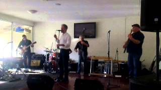 Don Walker and band.Toowong Bowls Club,Brisbane,9/11/14