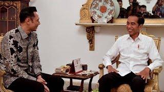 AHY Ucapkan Selamat ke Jokowi Jadi Pemenang Hasil Rekapitulasi Suara Pilpres di KPU
