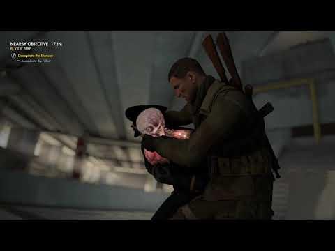 Sniper Elite 4 Stealth Kills (DLC Mission)