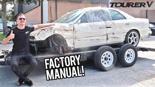 Rebuilding a Wrecked JZX100 Chaser in the USA!