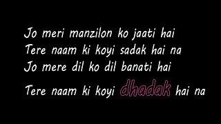 Dhadak   Title Track   Lyrics Only   Dhadak   Ishaan & Janhvi   Shreya Ghoshal   Ajay