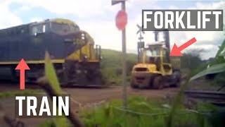 Amazing Forklift Accidents and Fails (Good Quality)
