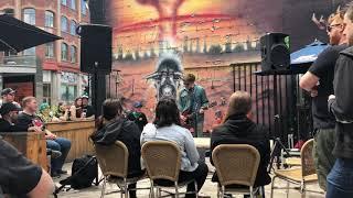 Chixdiggit acoustic great legs live Pouzza 2018