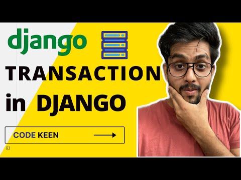 Transaction in Django |  Transaction atomic Django Example | Transaction in database django thumbnail