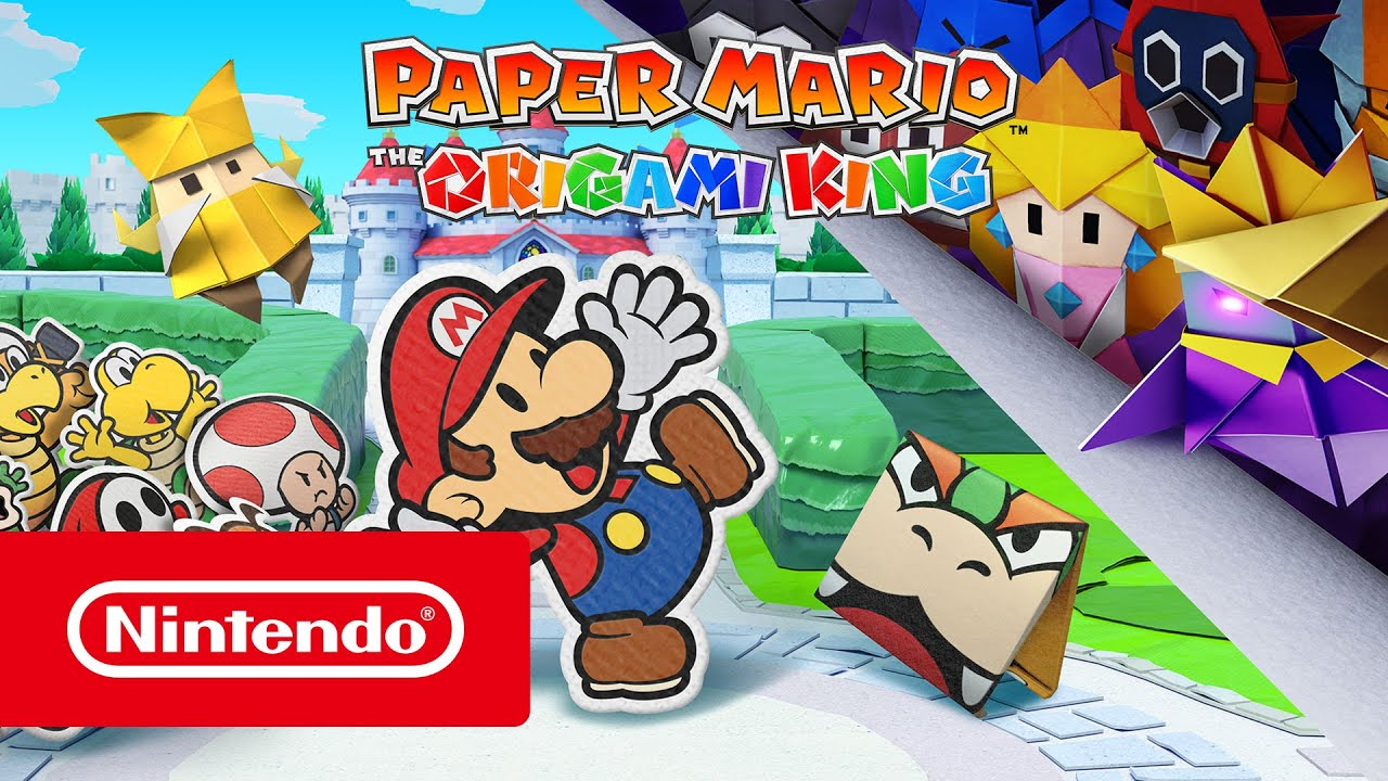 Трейлер игры Paper Mario: The Origami King