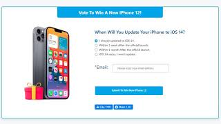 Enter Free iPhone 12 Giveaway + Discover iOS System Repair Tools!