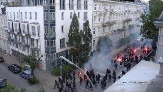 """#welcometohell """"Schwarzer Block"""" Riot in der Elbchaussee"""