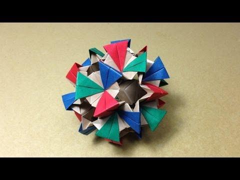 折り 折り紙 ユニット折り紙多面体折り方 : matome.naver.jp