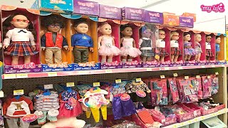 My Life As Doll Clothes Section At Walmart I Perfect For AMERICAN GIRL!