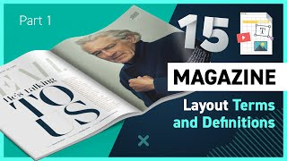 Anatomy Of A Magazine Layout Part 1 - 15 Terms And Definitions