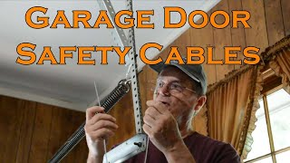 Garage Door Safety Cable