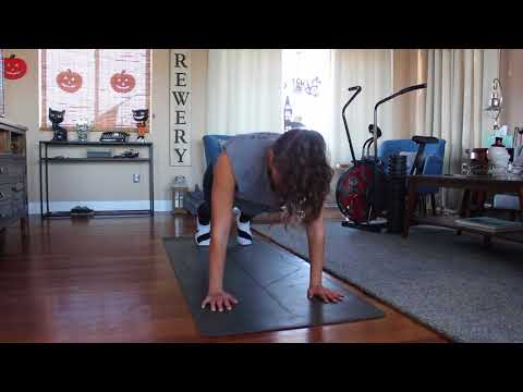 Push up with Mountain climbers