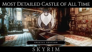 MOST DETAILED CASTLE MOD OF ALL TIME | Skyrim SE Ultra ENB Graphics