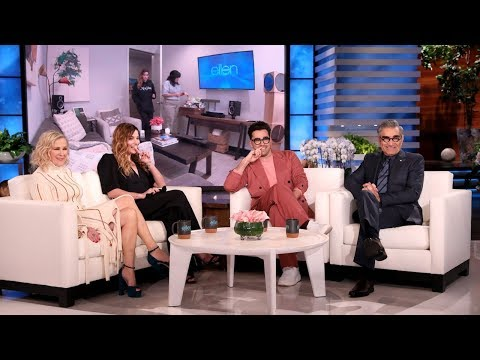 'Schitt's Creek' Star Annie Murphy Gets Pranked by Co-Stars Dan & Eugene Levy
