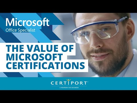 The Value of Microsoft Certifications - YouTube