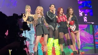 190501 Kiss And Make Up   BLACKPINK & DUA LIPA [FRONT ROW] (In Your Area Newark) Fancam