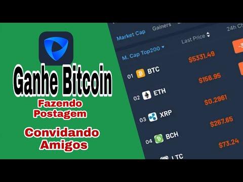 PIVOT - Como Ganhar Bitcoin na Coinbase Fazendo Postagem e Convidando Amigos.