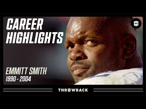"Emmitt Smith's ""Mr. Consistent"" Career Highlights 