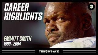 "Emmitt Smith's ""Mr. Consistent"" Career Highlights   NFL Legends"