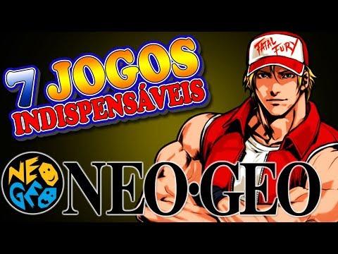 Neo Geo AES - 7 Jogos Indispensáveis