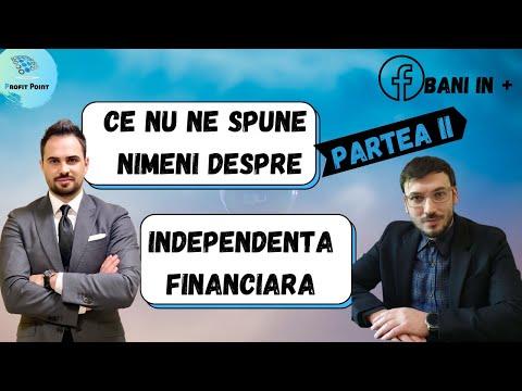 Ce nu-ți spune nimeni despre - Independența Financiară - Un drum diferit pentru fiecare dintre noi.