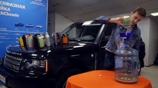 Залили 33 масла в Range Rover с V8. Мотору будет больно!