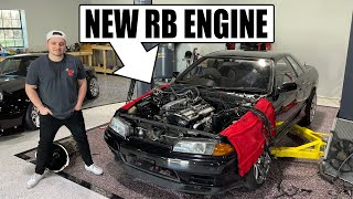 Abandoned R32 gets a new RB engine! by Evan Shanks